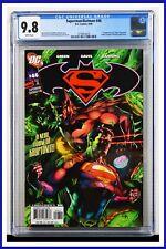 Superman Batman #46 CGC Graded 9.8 DC April 2008 White Pages Comic Book