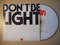 AIR : DON'T BE LIGHT [ CD SINGLE PROMO ]
