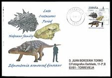 Spain dinosaur dinosaure dinosaurios-Custom Stamp-only 5 cover Made!!! cg35