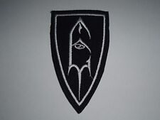 EMPEROR BLACK METAL IRON ON EMBROIDERED PATCH