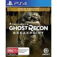 Tom Clancys Ghost Recon Breakpoint Gold Edition Sony PS4 Shooter Game