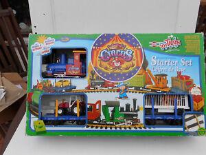 LGB 90788 Lehmann Eisenbahn Starter Set mit Circus / Zirkus Zug + Traktor +OVP
