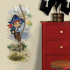 "CAPTAIN JAKE AND THE NEVERLAND PIRATES GiaNT WALL DECALS NEW 38"" Pirate Stickers"