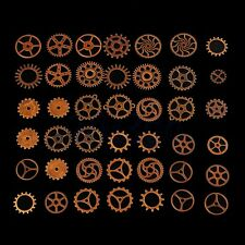 100g Copper Bronze Steampunk Gears Cogs  Parts Jewelry Crafts Old DIY CG