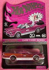 Hot Wheels Redline Club Exclusive Classic TV Series Batmobile Pink Party Car