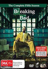 BREAKING BAD Season 5 : NEW DVD