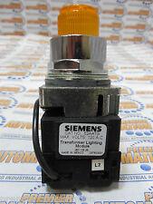 SIEMENS, 52PT6G9A, PUSH TO TEST PILOT LIGHT TRANSFORMER TYPE 120 VOLTS, AC