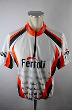 agostini Ferroli Bike cycling jersey maglia Rad Trikot Gr. XL F-11