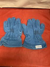 Fire Dex Inc. Fire Fighter Turnout Gauntlet Gloves Blue 3Xl Unused Ships Free
