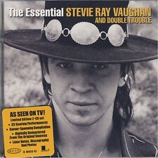 STEVIE RAY VAUGHAN 'THE ESSENTIAL' 33 TRACK DOUBLE CD NEW SEALED