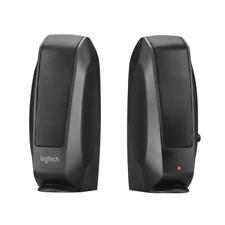 Multimedia Speakers Logitech S120 2.0 3w OEM Black High Quality Electronics