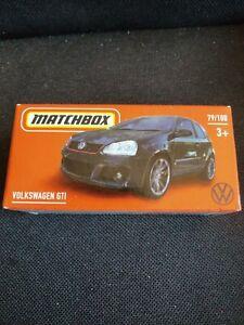 NEW 2021 MATCHBOX BLACK VOLKSWAGEN GTI