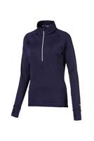 Puma Women's Navy Blue Golf Rotation 1/4 Zip Jumper Size M Medium New With Tags