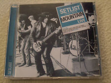 MOUNTAIN - Setlist - The very Best of Mountain Live CD Sony Music 2011 NM
