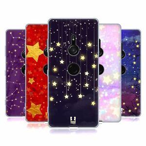 HEAD CASE DESIGNS STARLIGHTS SOFT GEL CASE & WALLPAPER FOR SONY PHONES 1