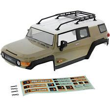 HPI 1/10 Venture FJ Cruiser * SANDSTORM BODY, ROOF RACK & DECALS * Shell Cover