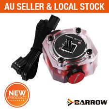 Barrow PC Water Cooling G1/4 RGB Black Impeller Flow Meter Sensor Indicator