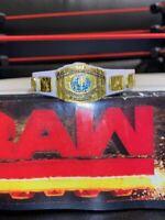 WWE Elite White Intercontinental Title Belt Action Figure Mattel