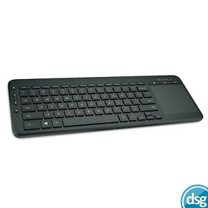 MICROSOFT WIRELESS KEYBOARD WITH TRACKPAD QWERTY ALL IN ONE - BLACK