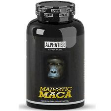 MACA hochdosiert | 180 Kapseln | extra starker Extrakt | Potenz Libido Macca