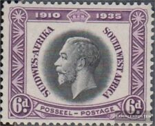 Namibië - Southwest 171 met Fold 1935 King Georg V.