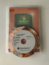 Microsoft Windows 7 Home Premium 64 Bit Full Version DVD