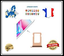CADRE SUPPORT CARTE PUCE SIM  IPHONE 8 ROSE
