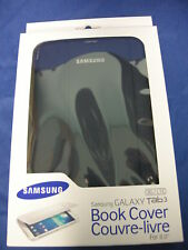 "NEW BOOK COVER / CASE FOR SAMSUNG GALAXY TAB/TABLET 3 8.0"" BLUE EF-BT310BLEGCA"