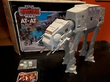 Vintage Star Wars ESB At-At W/ Box and Weapons .Pack, Works Great, Super Clean