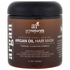 Art Naturals Argan Oil Hair Mask Deep Conditioner Organic Jojoba Aloe Keratin 8z