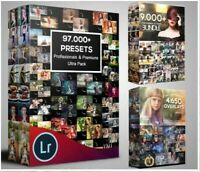 100,000 photoshop actions, overlay lightroom presets -Huge Collection-