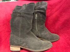 White stuff Grey Suede winter Boots ladies uk 6 light use