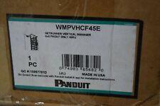 Panduit WMPVHCF45E NetRunner Vertical Manager 6x6 Front Only 45RU - NOB