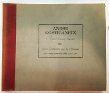 ANDRE KOSTELANETZ MUSICAL COMEDY FAVORITES COLUMBIA MASTERWORKS 78RPM SET #M-430