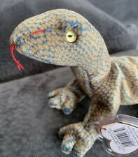 Ty Beanie Baby Scaly the Lizard Dob February 9, 1999 Mwmt