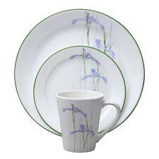 Corelle Impressions 16-Piece Dinnerware Set, Shadow Iris, Service for 4