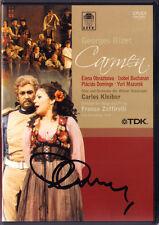 DVD Placido DOMINGO Signed BIZET CARMEN Elena OBRAZTSOVA MAZUROK Carlos KLEIBER