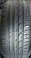 1x 215 55 16 93Y  CONTINENTAL CONTI PREMIUM CONTACT 2 5MM TREAD REMAIN (NO PUNCT