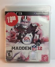 PS3 Madden NFL 12 ( Sony PlayStation 3 ) Like New