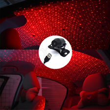 Red Car Star Twinkle LED Decoration Light Inside Rooftop Ceiling Projector Lamp