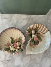 Fitz and Floyd Oceana classic shell dishes