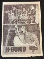 1982 <特工隊勇奪氫氣彈> Chinese movie flyer H-BOMB Olivia Hussey Christopher Mitchum