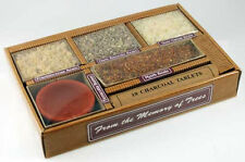 Resin Incense Starter Kit Gift Pack with Burner and Charcoal- Four Scents Resin