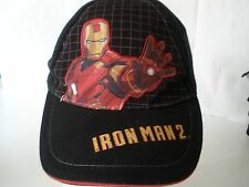 Iron Man 2  Two Boys Youth Hat Cap Hat Black 2010 The Movie
