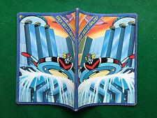 EROI DELLO SPAZIO GOLDRAKE Quaderno scuola vintage A5 righe (80s) copybook