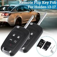 2Pcs 5 Button Remote Flip Key Blank Shell FOB Enclosure For Holden Commodore