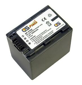 Sony NP-FH90 NPFH90 Replacement Li-ion Battery by CS POWER