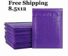 1-300 #2 8.5x12 ( Purple ) Color Poly Bubble Mailers Fast Shipping