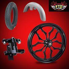 "Harley 26 inch Big Wheel Builder kit, Wheel, Tire, Neck, & Fender, ""Thrasher"""