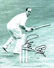 Brian CLOSE Signed Autograph 10x8 ENGLAND Cricket Yorkshire Photo AFTAL COA